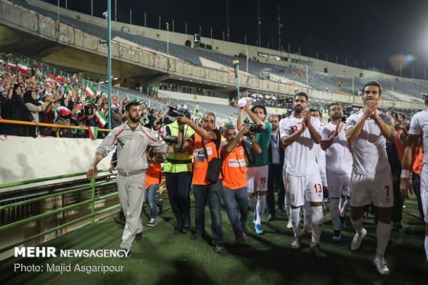 خبرخوش برای تیم ملی فوتبال ایران در جهت جام جهانی2022